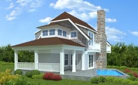 House1 Rear