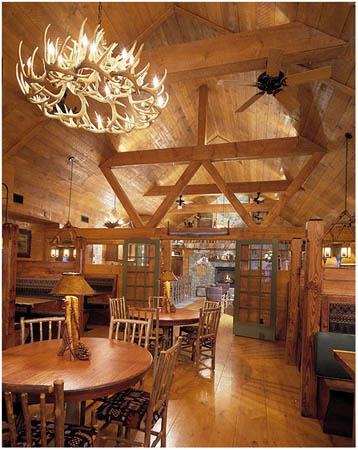 Adirondack Grill Interiors